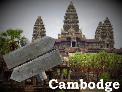 Itinéraires au Cambodge