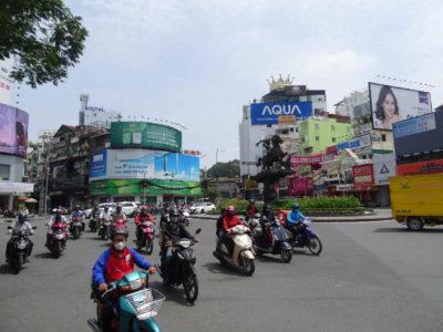 Visite d'Ho Chi Minh City (Saigon)