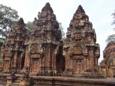 Visite guidée de temples d'Angkor