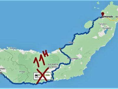 De Gorontalo à Manado