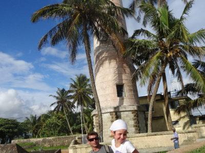 De Mirissa à Unawatuna et visite de Galle