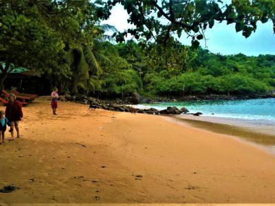 Unawatuna, la pluie et Jungle Beach