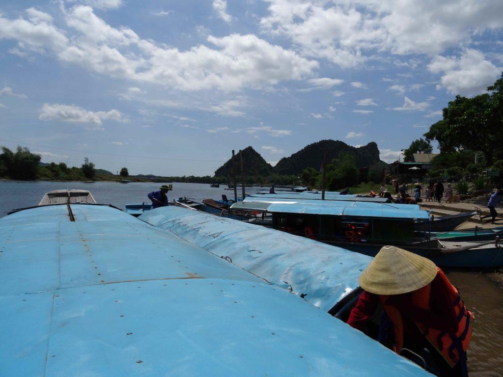embarcadère pour Les grottes du Parc National de Phong Nha Ké Bang