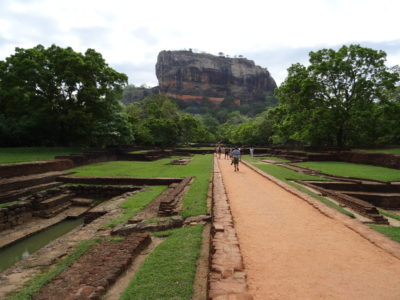 Lion Rock, le rocher de Sigiriya