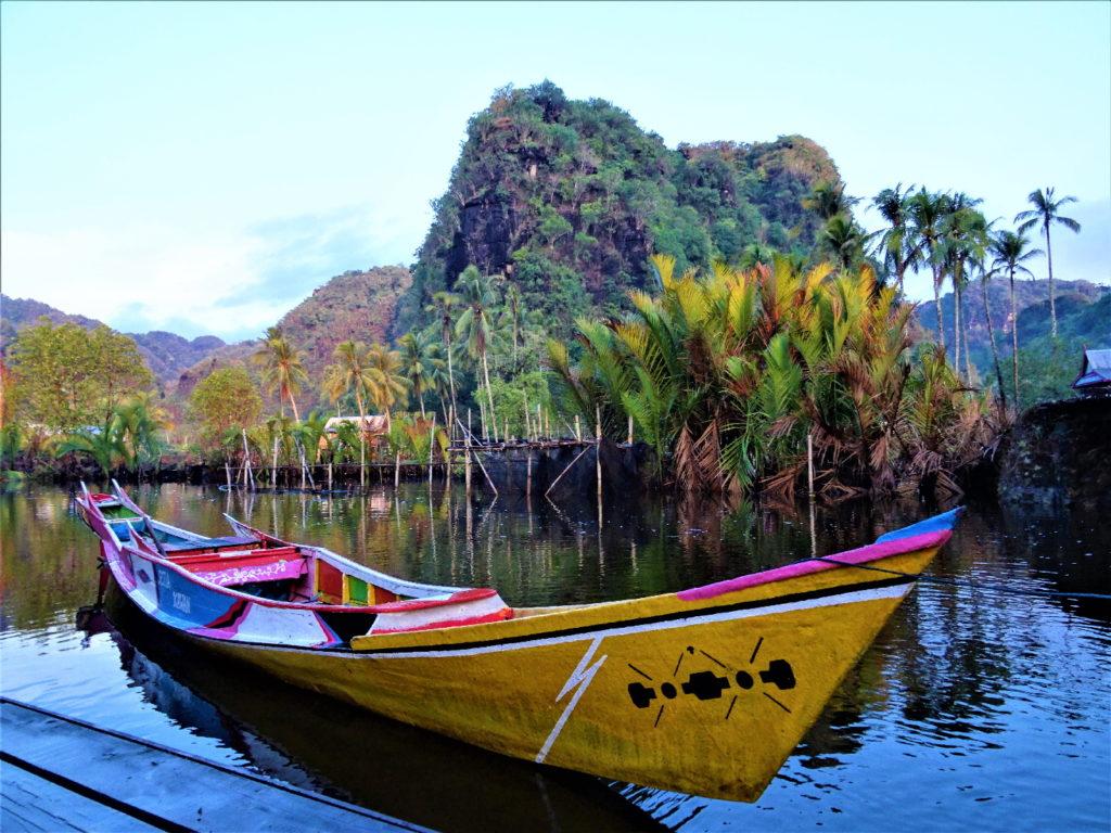 retour en bateau de ramang-ramang, notre bateau