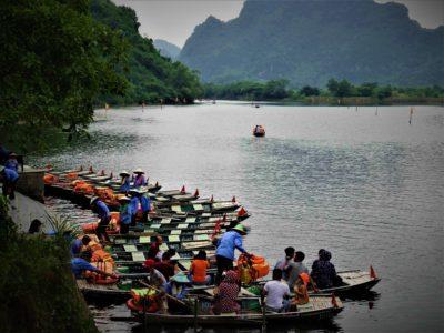 Ninh Binh, la baie d'Ha Long terrestre, suite, et retour à Hanoï