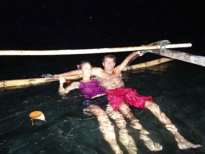 Snorkeling by night à Marantale