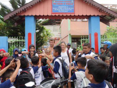 Visite d'une école primaire