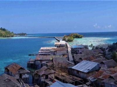 Pulau Papan depuis Malenge, îles Togian