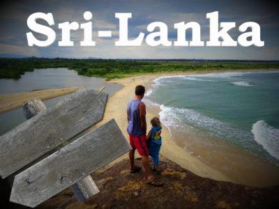 Itinéraires au Sri-Lanka