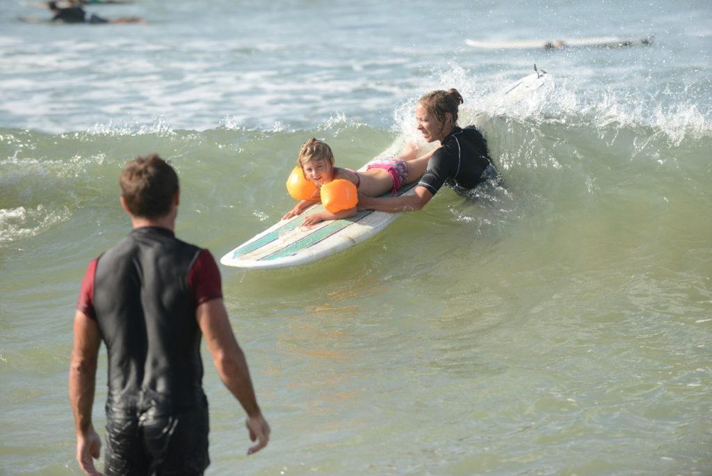 chatounette surf à arugam bay