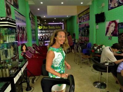 L'expérience «coiffeur» à Sa Pa