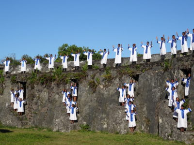 Foulpointe, visite de Manda Fort