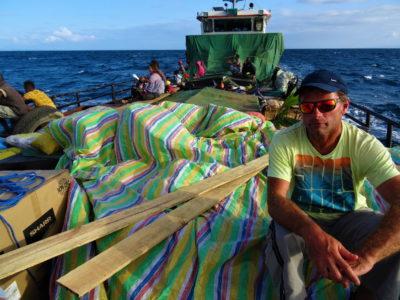 Plus de 30h sur un bateau pour rejoindre Maroantsetra depuis l'île Sainte-Marie