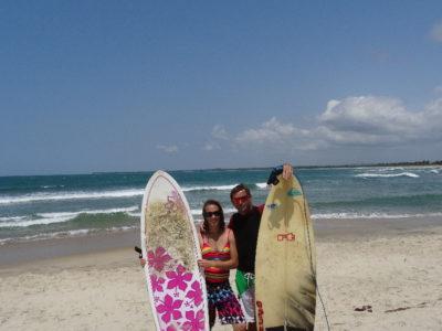 Surf à Mahambo
