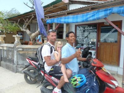 De Sanur à Nusa Lembongan