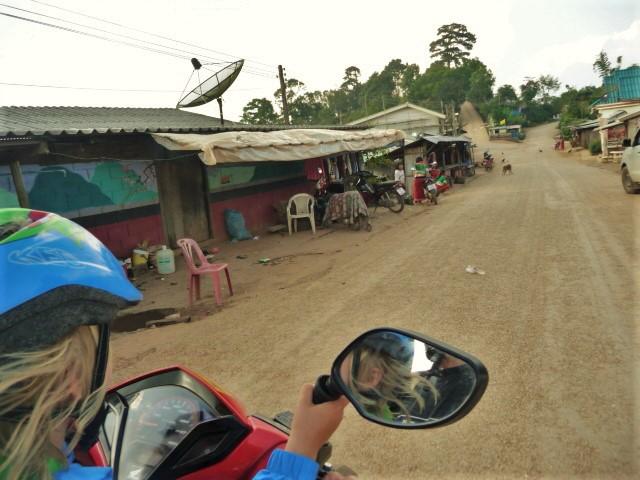 petit village près de la frontière birmane et Doi Angkhang Royal Agricultural Station à Fang, Nord Thaïlande