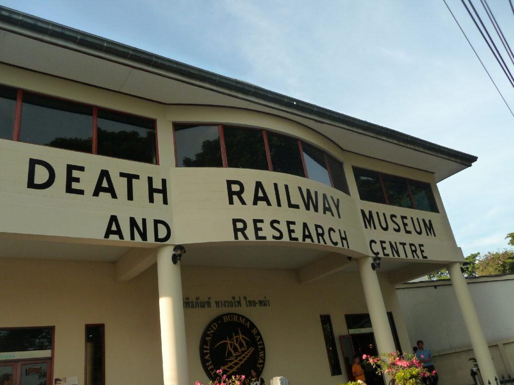 façade du musée de la guerre jeath death railway museum and research centre