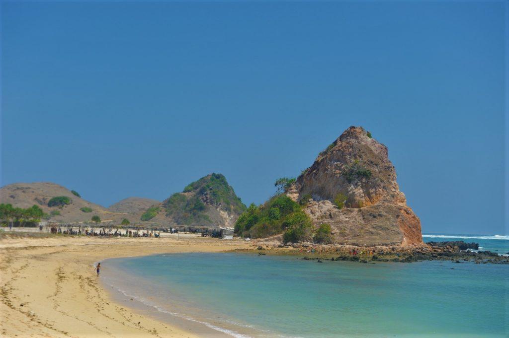 plage où ramasser les coquillages entre Kuta Lombok et Tanjung Aan Beach