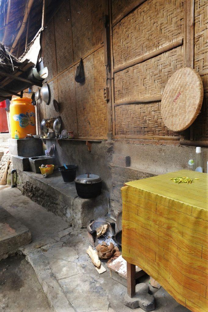 Sade, village sasak à Lombok, cuisine
