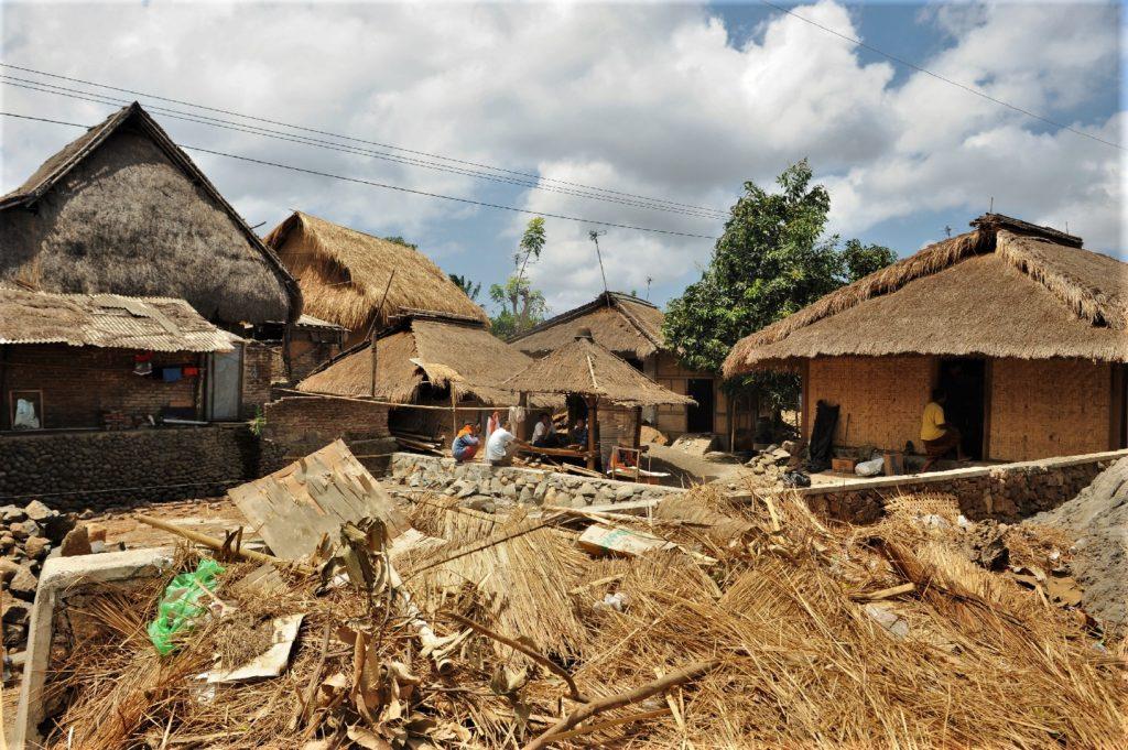 Sade, village sasak à Lombok