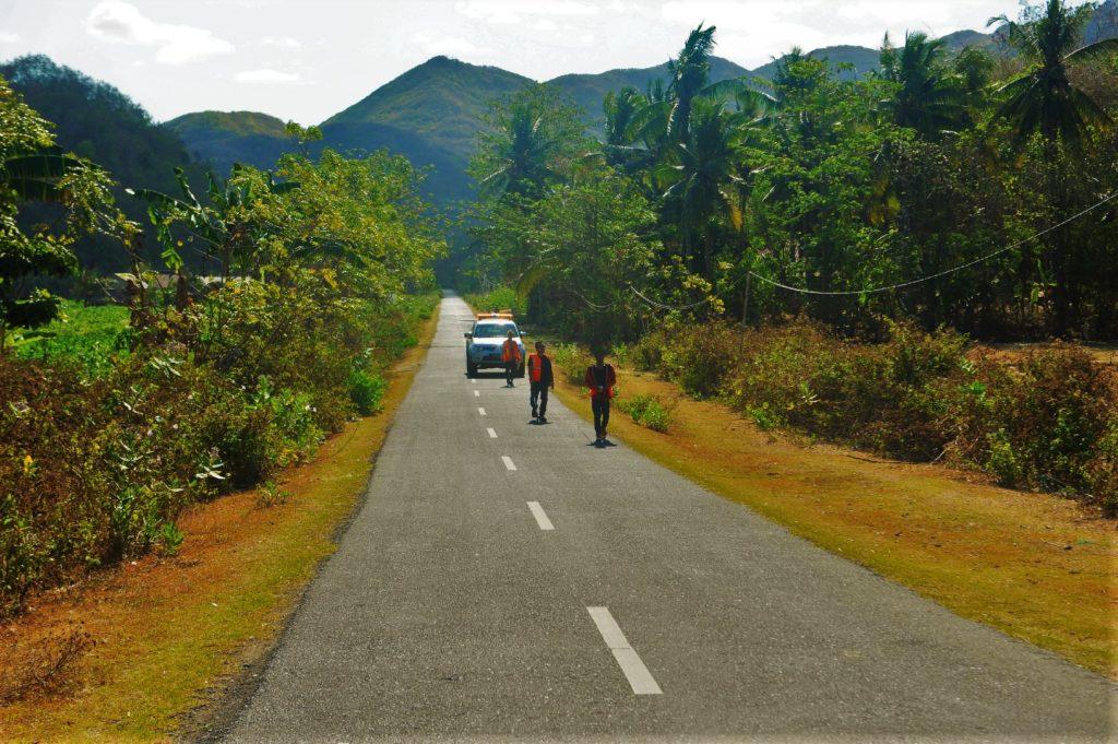 sur la route entre Kuta Lombok et Selong Belanak Beach, route