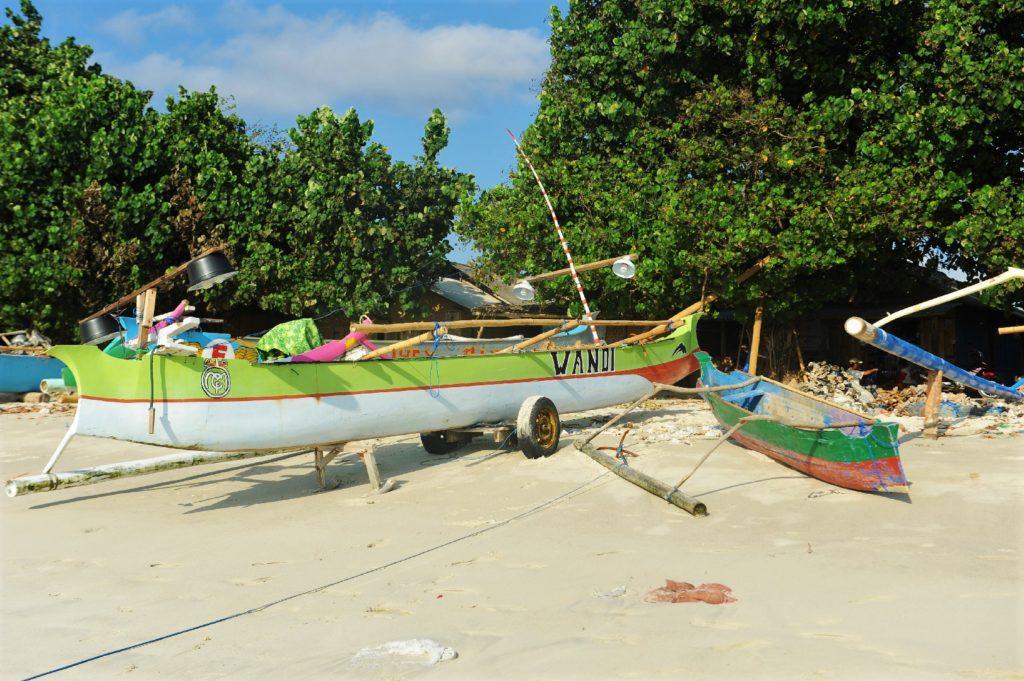 plage de Selong Belanka Beach, les coulisses de la plage