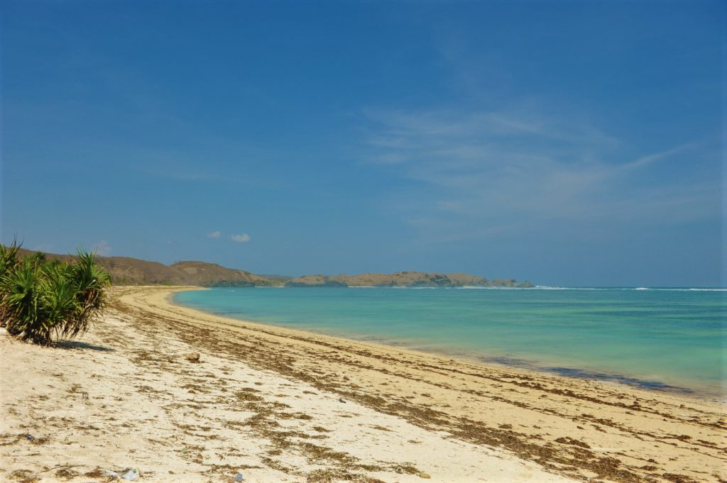 plage de Tanjung Aan Beach