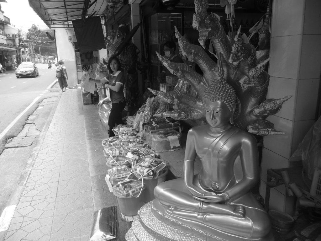 boutique de boudha à bangkok