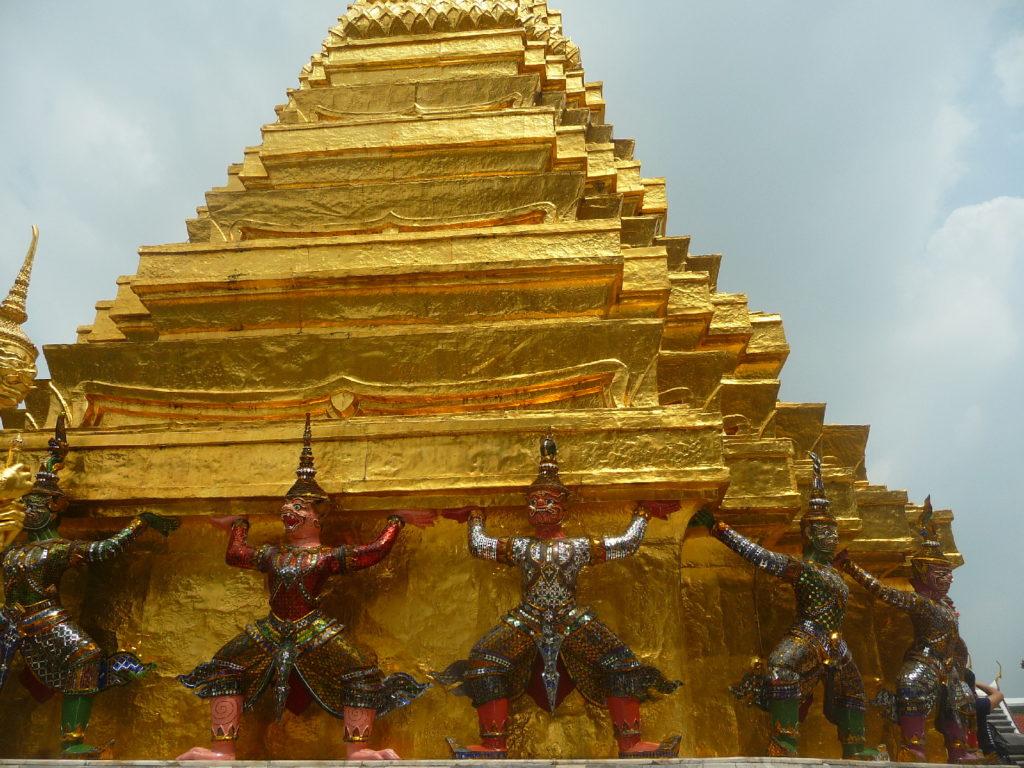 Wat Phra Kaew et Grand Palais à Bangkok