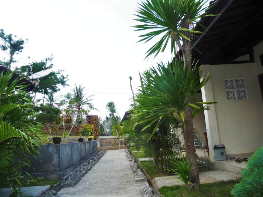 notre logement à kuta lombok