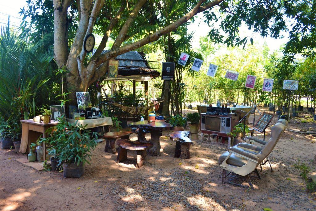 arrêt boisson près de khao yai, salon original