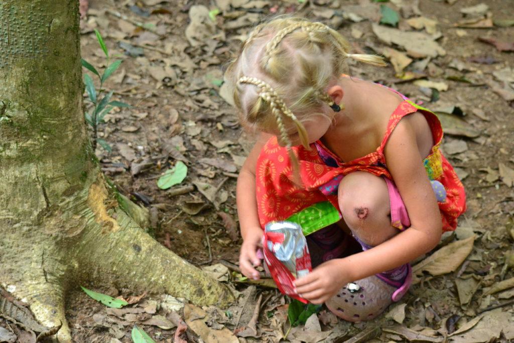 chatounette dans le parc national de khao yai