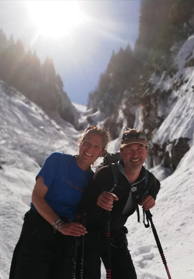 parents saisonniers avoriaz chinon couple au ski