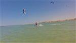 kitesurf entre El Gouna et Hurghada sur les côtes de la Mer Rouge